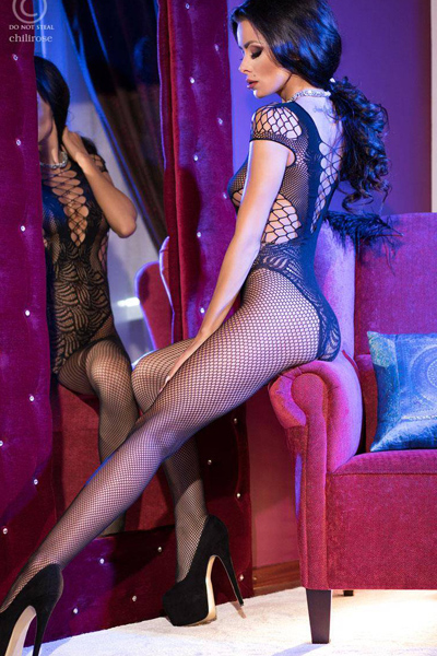 CR4102 Catsuit Bodystocking