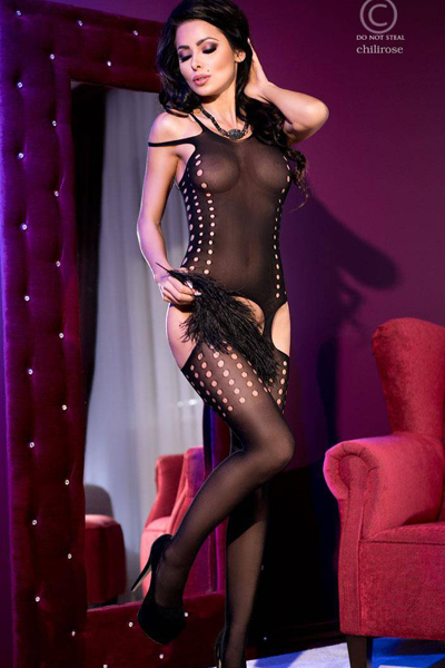 CR4107 Catsuit Bodystocking